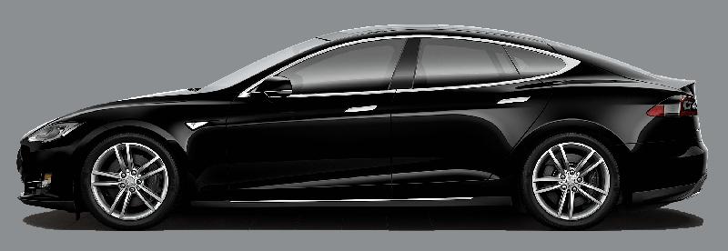 Santa Cruz Shuttles - Tesla S